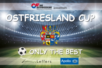 Ostfriesland CUP - Only the best - Logo
